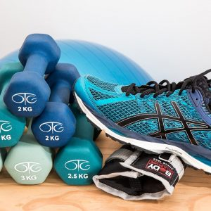 dumbbells, training, fitness