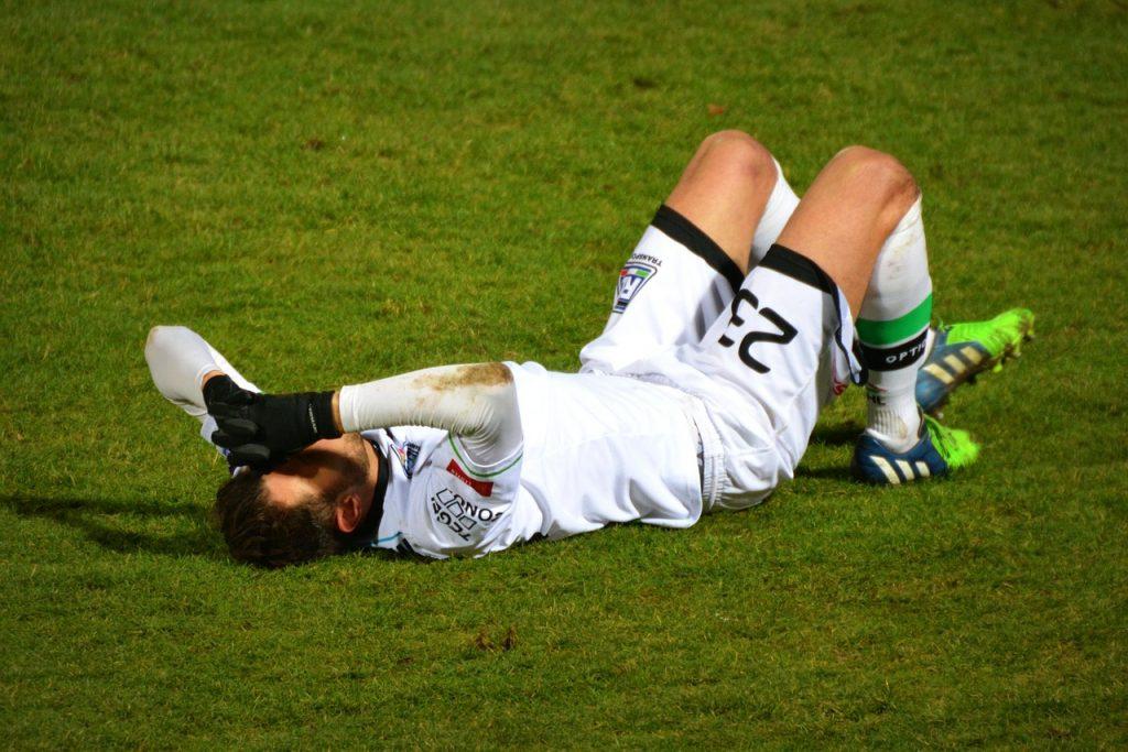 football, injury, sports