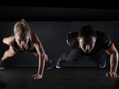 sport, push-up, strength training